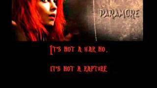 Paramore Karaoke/Instrumental - Ignorance