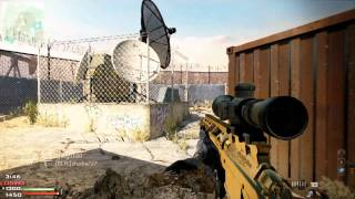 MW3 | 9 kills vs. 1 - MSR Quick Scope Clutch on Dome