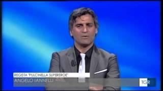 Pulcinella Angelo Iannelli  nella terra dei fuochi dal TG3 Campania1