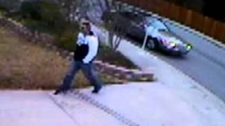 Front porch U.S. Mail Thief caught on tape
