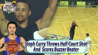 [Stephen Curry X MUDO] Stephen Curry Scores Buzzer Beater Throwing Half Court Shot 20170805