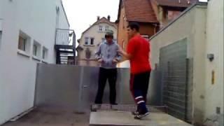 A.D.H. freestylin - Clyde Carson ft. Sean Kingston & the Game - in da club