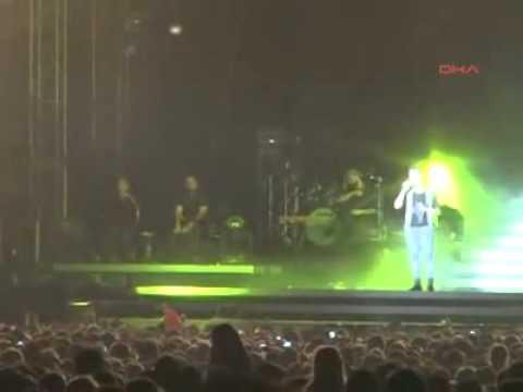 Tarkan - Edirne Konseri - Ergene Mesajı - 12.7.2012