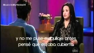 Entrevista a Demi Lovato en 20/20 - (Subtitulada al español) width=