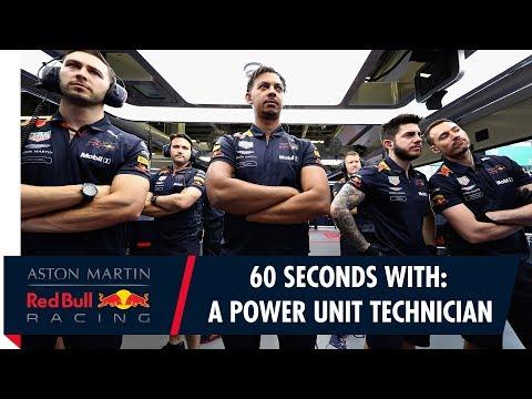 60 Seconds With: Power Unit Technician Calum Nicholas