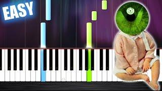 Clean Bandit - Rockabye ft. Sean Paul & Anne-Marie - EASY Piano Tutorial by PlutaX