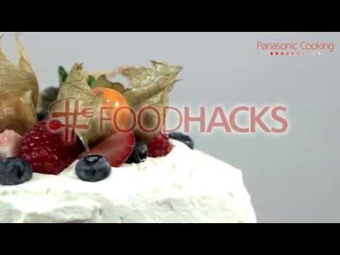 Quick fruitilicious cake without baking