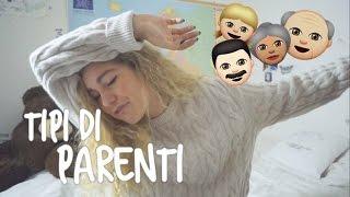 TIPI DI PARENTI A Natale!   Sofia Viscardi