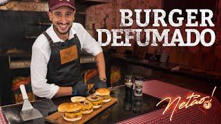 Burger Defumado no PitSmoker | Netão! Bom Beef #67