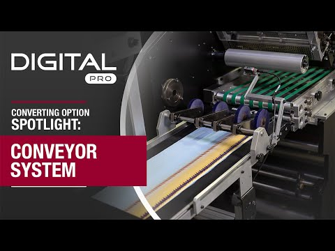 Mark Andy Digital Pro 3 - Inline Sheeting and Conveyor System