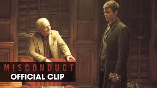 """Misconduct (2016 Movie – Josh Duhamel, Al Pacino) Official Clip - """"I Never Wanted Any of This"""""""