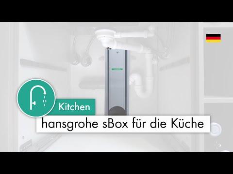 hansgrohe sBox: So bringen Sie Ordnung in Ihren Spülenunterschrank