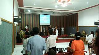 Ibadah perjamuan kudus GBI ROCK MINISTRI PROKIMAL TGL 1/10/2017