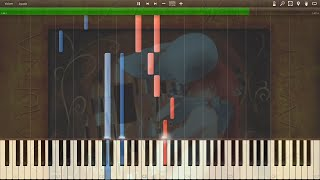 "Elfen Lied - Opening ""Lilium"" - Synthesia Piano HD"