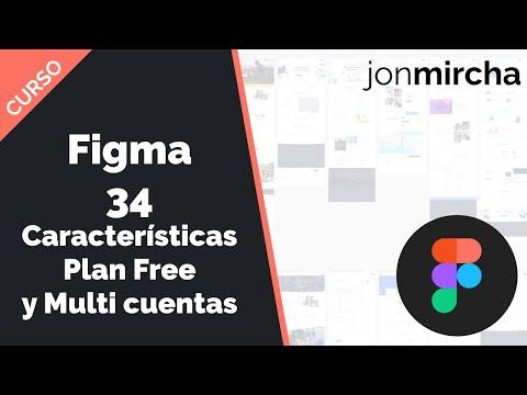 Curso Figma: 34. Nuevas Características Plan Free y Multicuentas de Usuario - #jonmircha