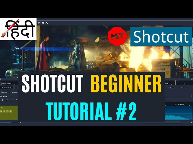 Download thumbnail for How To Use Shotcut Video Editor #2