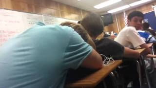 Shane sleeping in english