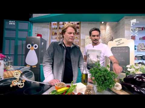 O reţetă delicioasă şi sănătoasă: Vinete persane