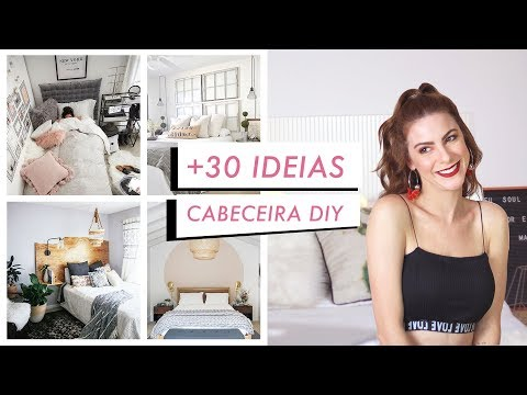 + 30 Ideias de Cabeceira de Cama DIY incríveis – Pinterest