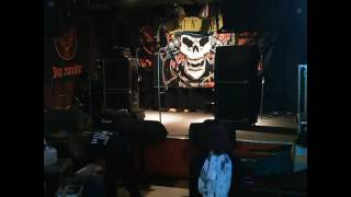 Time lapse Dust N' Bones Guns N' Roses tribute load in and setup