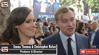 Christopher Nolan & Emma Thomas Dunkirk Premiere interviews