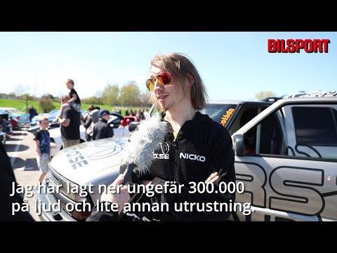 Ljudbyggen på Bilsports träff i Linköping