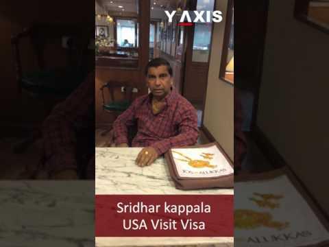 Sridhar kappala USA Visit Visa PC Mohammed Ayub
