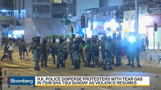 Hong Kong Unrest Rages on