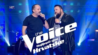 "Mentori Tony & Jacques: ""Tugo moja"" - The Voice of Croatia - Season 2 - Knockout1"