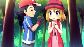 Ash x Serena (I know, the song doesn't match, but it's catchy)