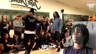 PRINCE REACTS | Les Twins (Larry) Big Sean, Metro Boomin - Big Bidness ft. 2 Chainz LARRY IS A BEAST