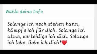 süße whatsapp chats