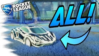 ALL PAINTED ENDOS! - Rocket League Turbo Crates Trading Guide! (Some with 20xx!)
