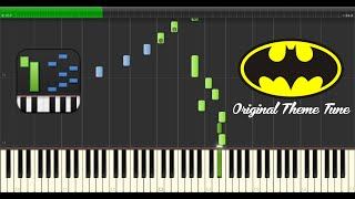 [MIDI] Original Batman Theme Tune (Synthesia)