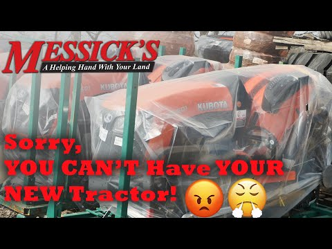 I have to wait HOW LONG? (for my new tractor) Picture