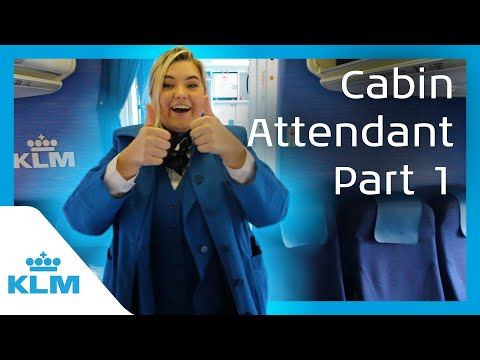 KLM Intern On A Mission - Cabin Attendant For A Day - Part 1