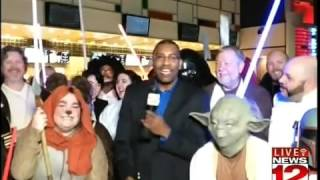 Live at the Star Wars: The Force Awakens Premier