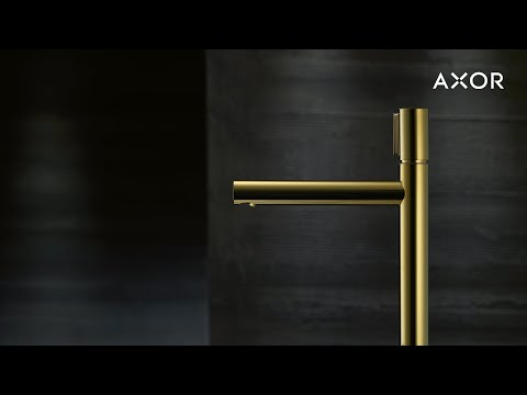 AXOR Uno | Пуристический дизайн ванной