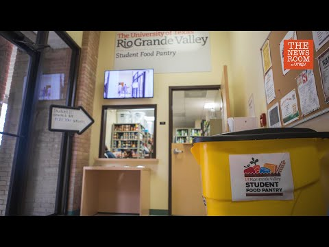 UTRGV Student Food Pantry Workers Ready to Help Students