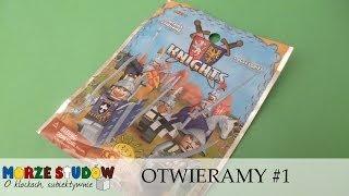Otwieramy Saszetki Knights #1