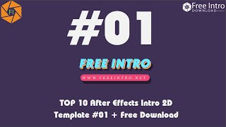 TOP 10 After Effects Intro 2D Template #01 - Free Download 2017