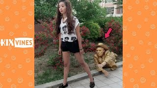 Funny videos 2018 ✦ Funny pranks try not to laugh challenge P39