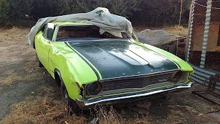 Parents Reaction to Son Restoring Their 45 Year Old Ford XA Superbird width=