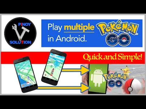 How to play multiple Pokemon Go accounts on Android