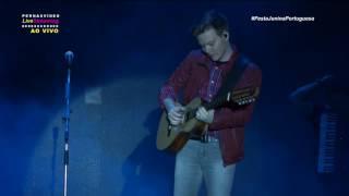 Transmissão Live Festa Junina da Portuguesa, Michel Teló, O menino da porteira