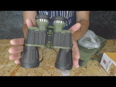 60x50 Military Army Бинокль и строительный нож photo