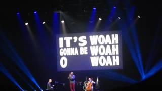 It's gonna be OK (audience participation) - Piano guys live in Amstedam