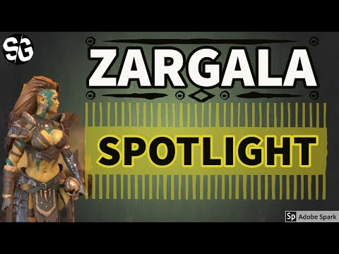 [RAID SHADOW LEGENDS] ZARGALA SPOTLIGHT - REVISITED