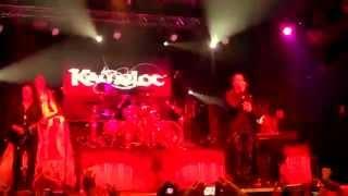 "KAMELOT ""Ghost Opera"" - live in São Paulo 09/02/2014 at Carioca Club"