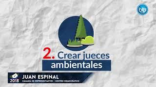 Las propuestas de Juan Espinal para llegar a la Cámara por Antioquia | Blu Radio
